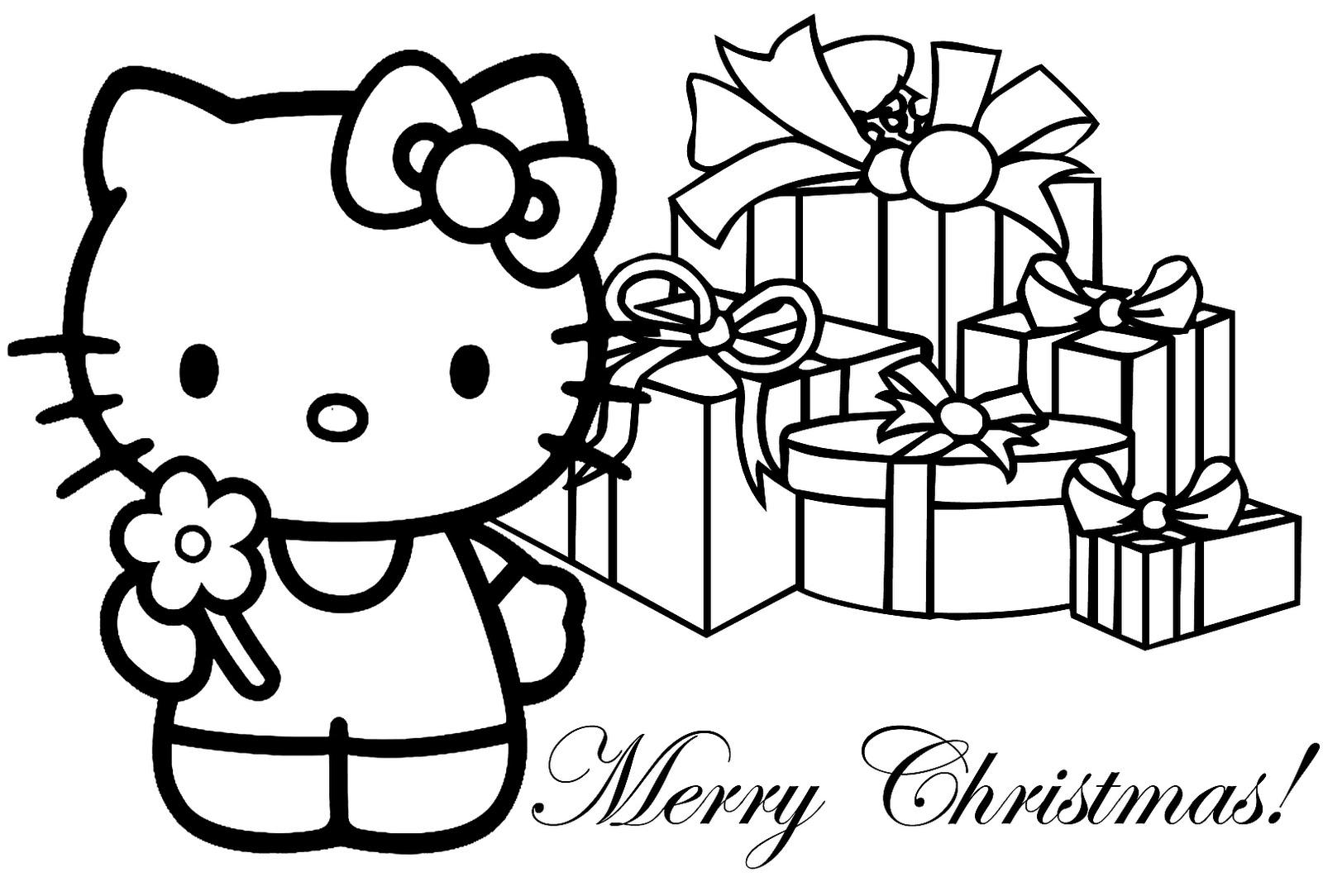 Coloriage hello kitty gratuit - dessin a imprimer #299