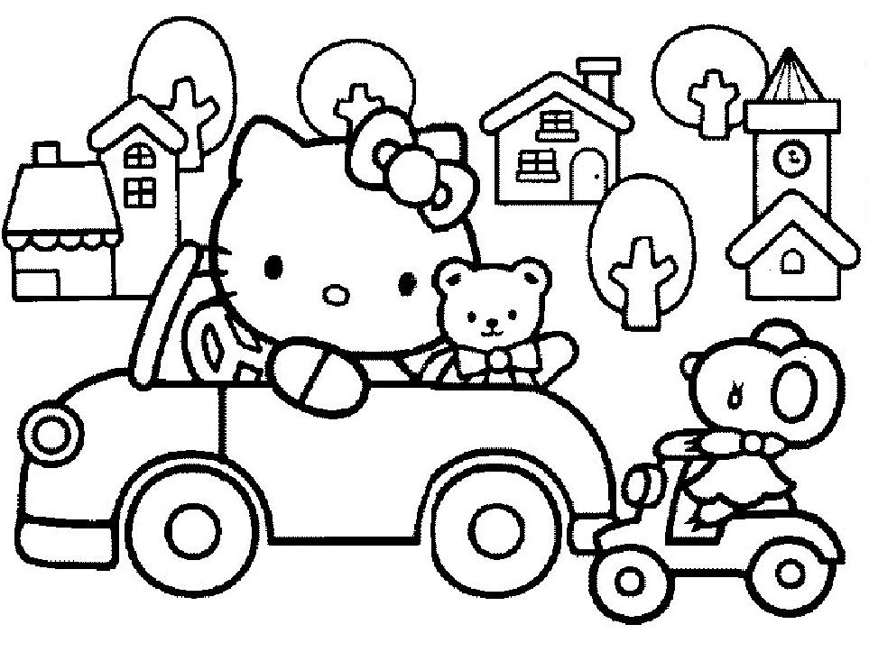 147 dessins de coloriage hello kitty imprimer sur page 11 - Coloriage hello kitty ...