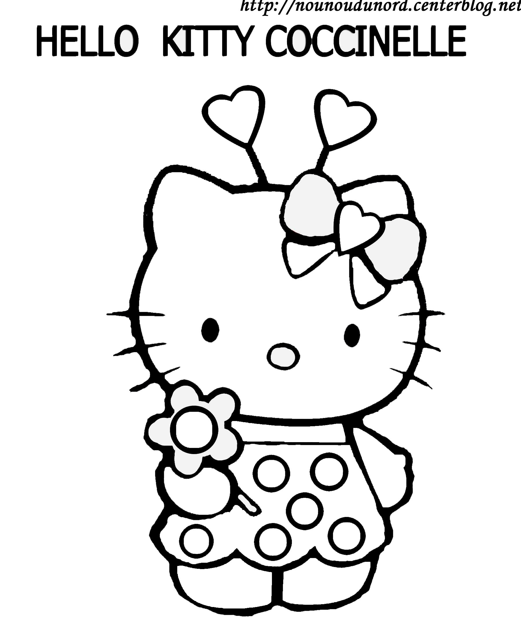 147 dessins de coloriage hello kitty imprimer sur - Coloriage hello kitty gratuit ...