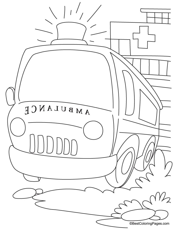 vet tools coloring pages - photo#27