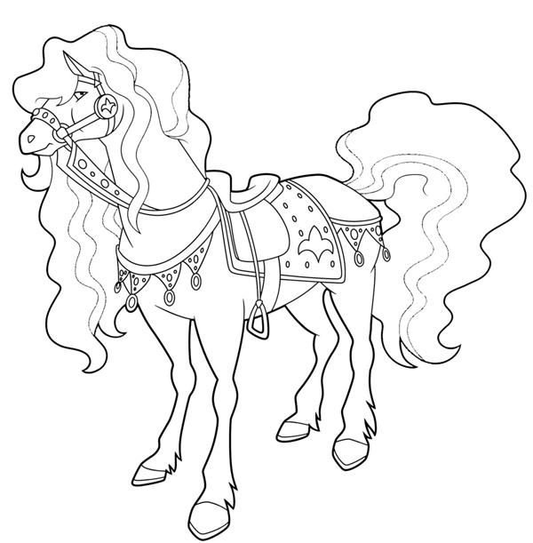 Coloriage horseland gratuit - dessin a imprimer #11