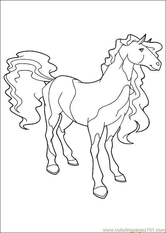 Coloriage horseland gratuit - dessin a imprimer #12