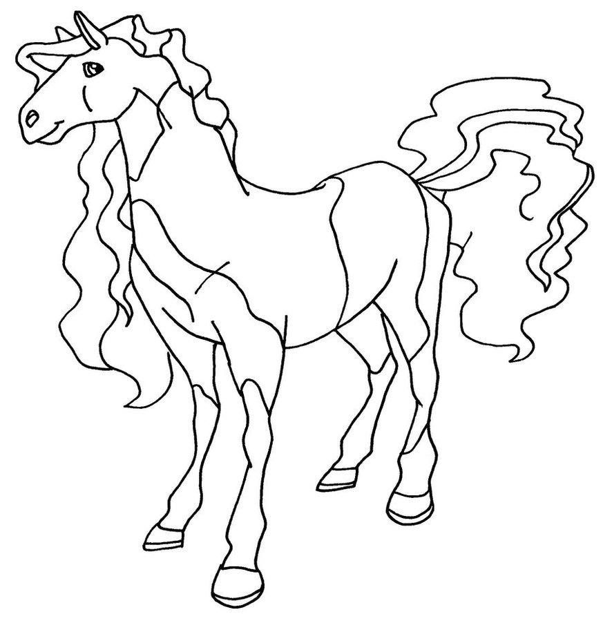 Coloriage horseland gratuit - dessin a imprimer #14