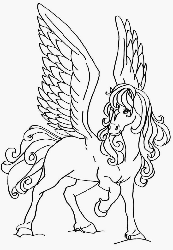 Coloriage horseland gratuit - dessin a imprimer #147