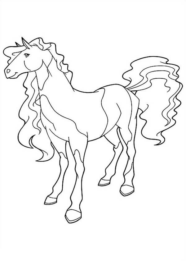 Coloriage horseland gratuit - dessin a imprimer #172