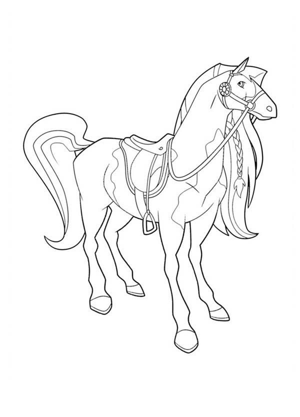 Coloriage horseland gratuit - dessin a imprimer #180