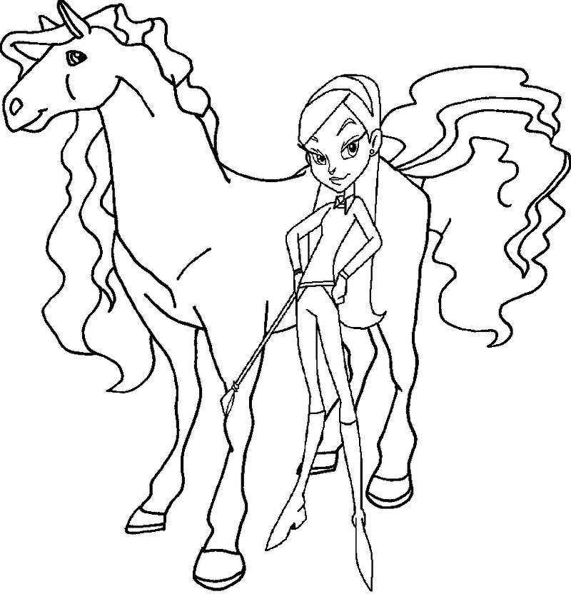 kids n fun com 10 coloring pages of horseland - Horseland Coloring Pages Print