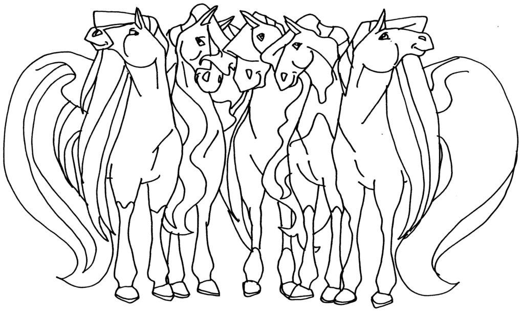 Coloriage horseland gratuit - dessin a imprimer #21
