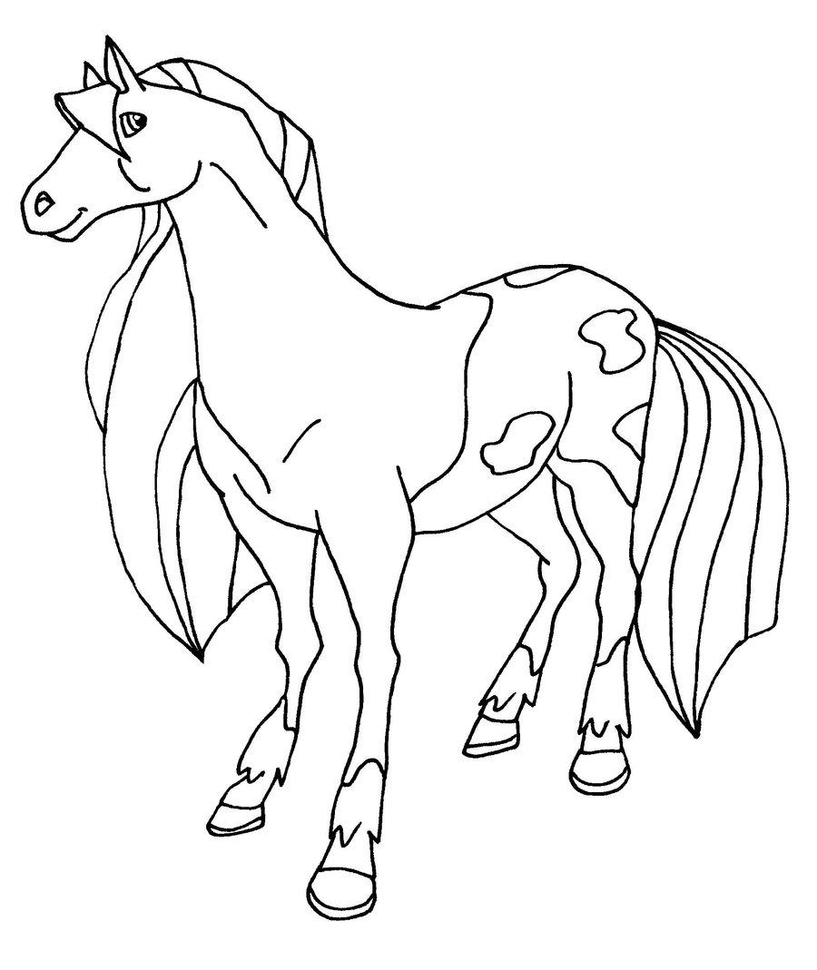 Coloriage horseland gratuit - dessin a imprimer #25