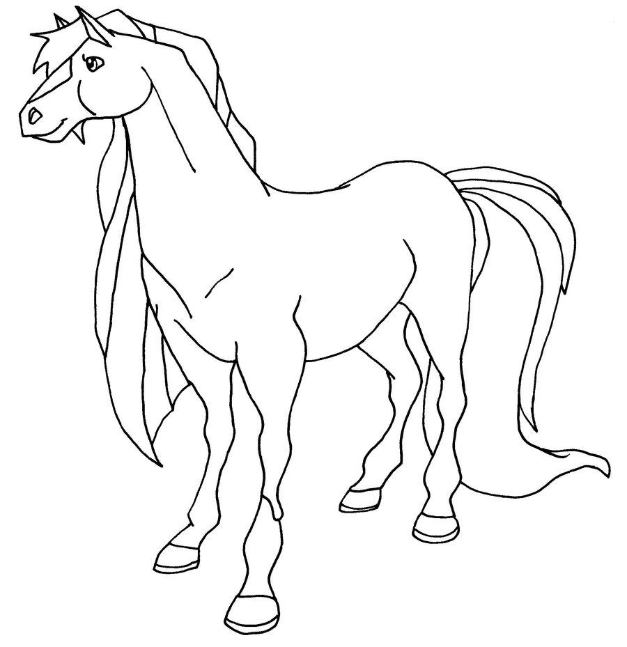 Coloriage horseland gratuit - dessin a imprimer #292