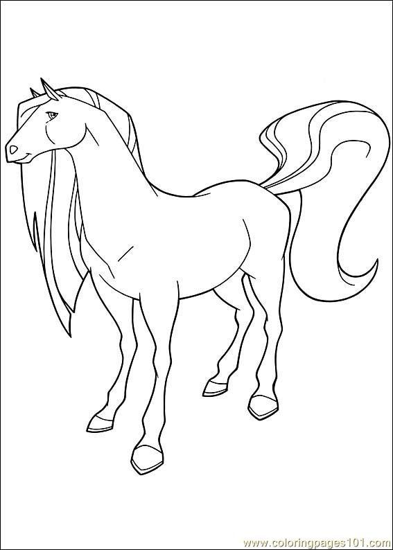 Coloriage horseland gratuit - dessin a imprimer #61