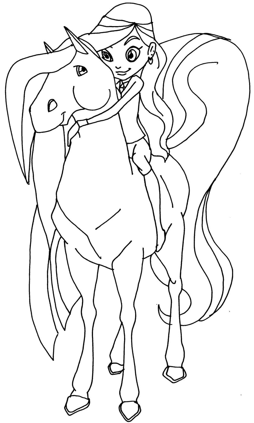 Coloriage horseland gratuit - dessin a imprimer #70