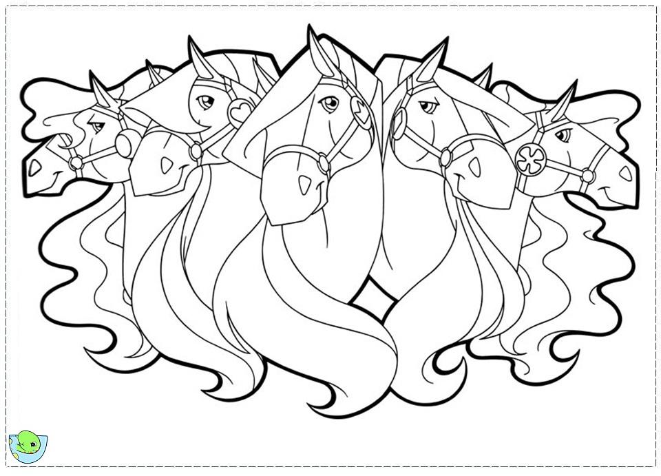 Coloriage horseland gratuit - dessin a imprimer #92