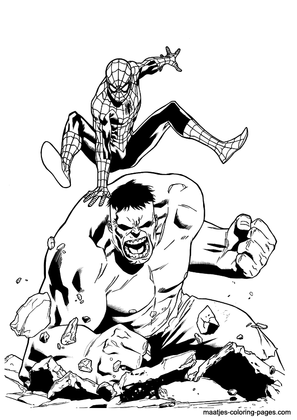 incredible hulk coloriage pages dessin gratuit à colorier site