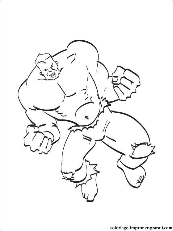 coloriage de hulk a colorier coloriage . une