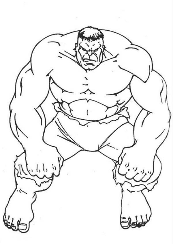 here: home the hulk awesome hulk image dessin à colorier