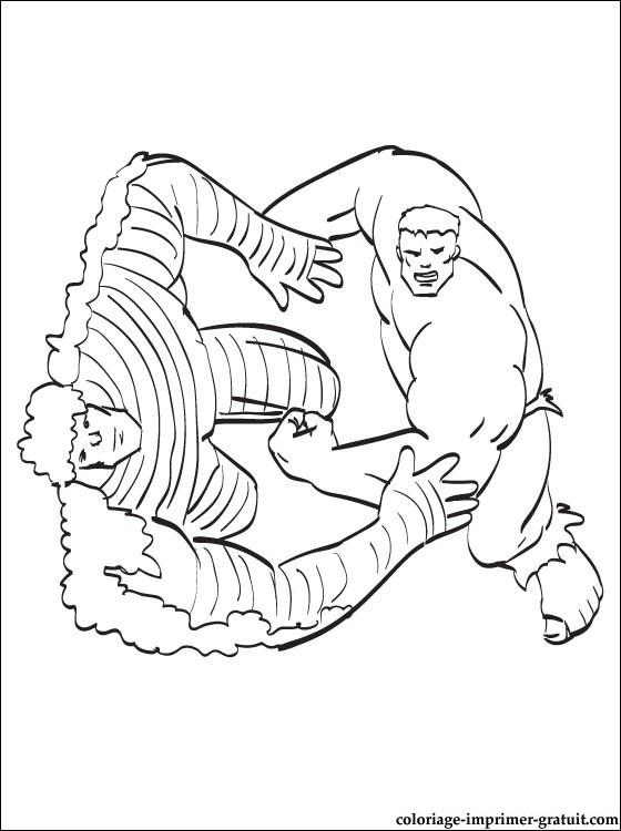 coloriages de hulk à imprimer gratuit. coloriages en ligne et hulk