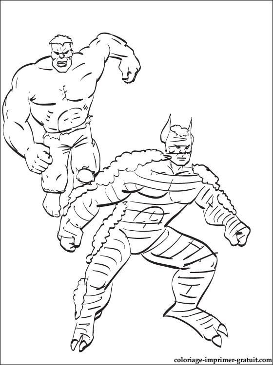 coloriage hulk a imprimer coloriage à imprimer gratuit