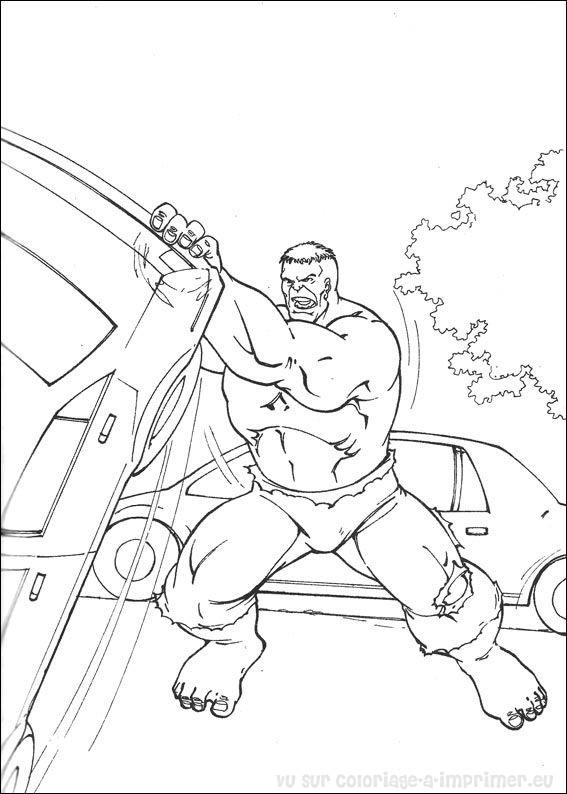 coloriage hulk coloriage de coloriage hulk