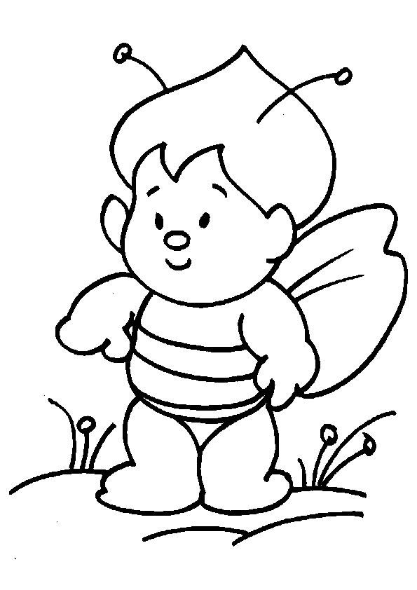 imprimer coloriage dessins animaux insectes.