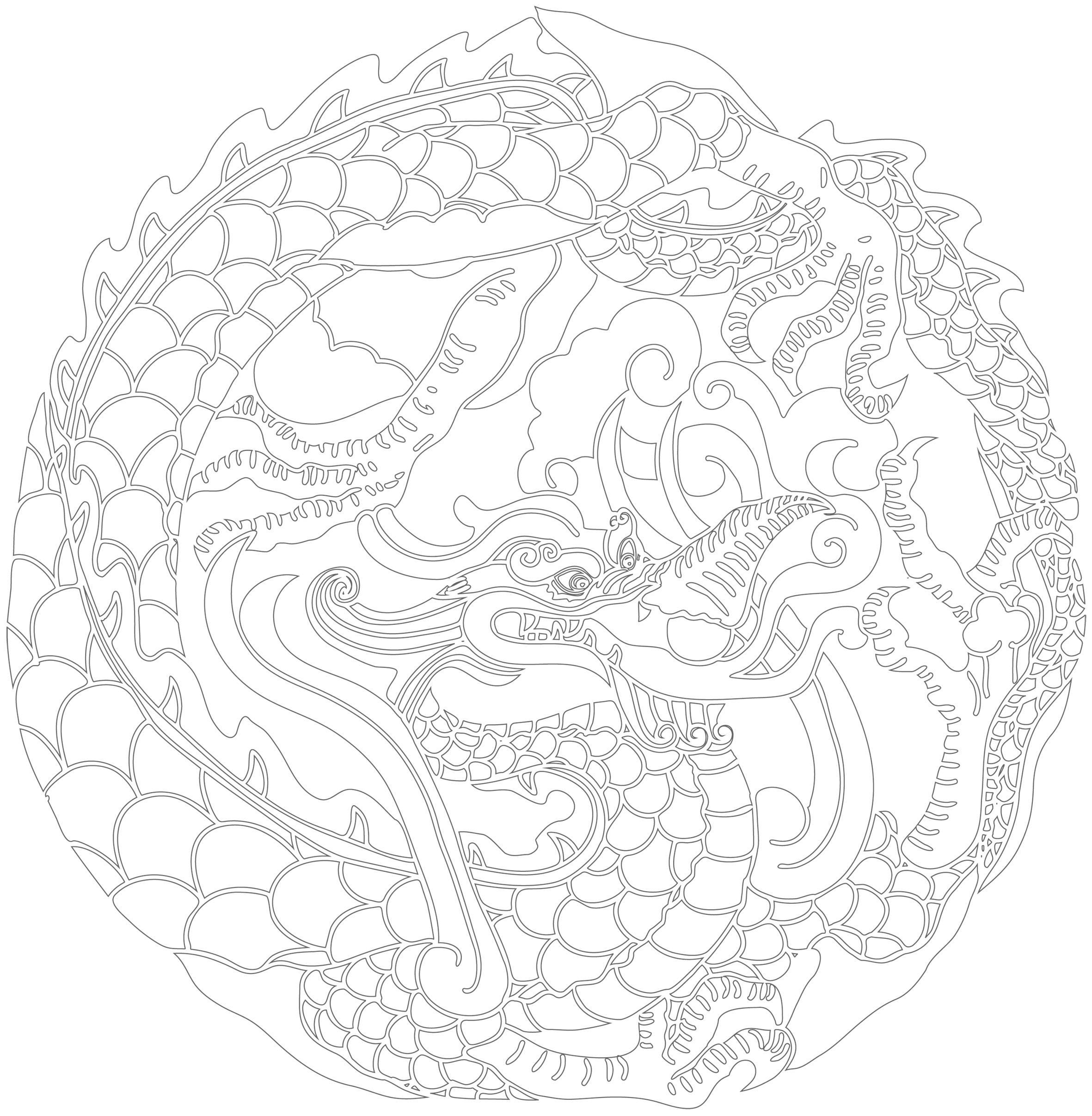 41 dessins de coloriage inspiration zen imprimer sur page 4 - Image zen a imprimer ...