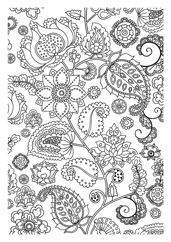 Zen Coloring Pages Pdf : Dessins de coloriage inspiration zen à imprimer sur