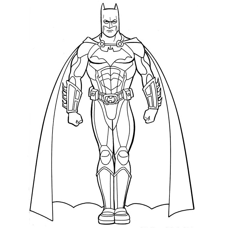 phoà dessineriage batman : image gratuite coloriage batman