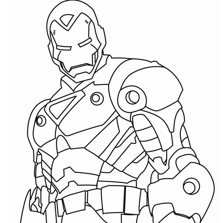 imprimer le coloriage iron man pour imprimer le coloriage iron man