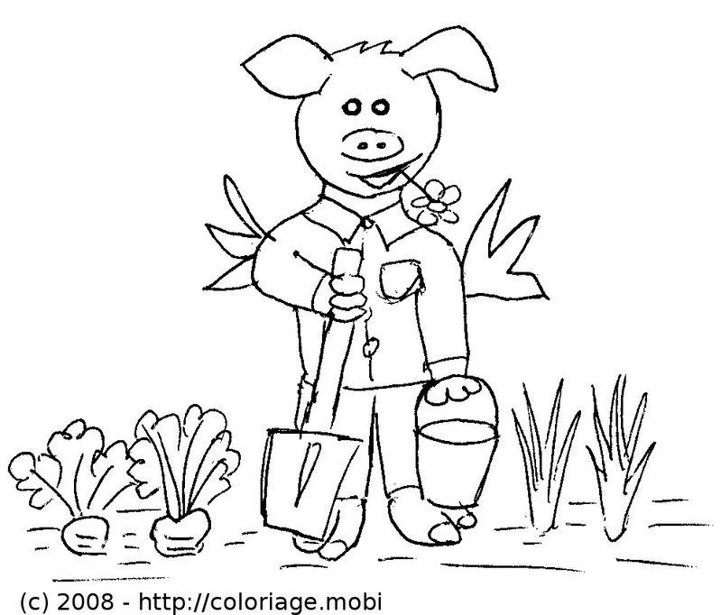 34 dessins de coloriage jardinier imprimer sur page 2. Black Bedroom Furniture Sets. Home Design Ideas