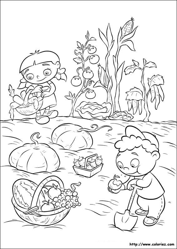 34 dessins de coloriage jardinier imprimer sur page 2 - Dessiner son jardin en ligne ...