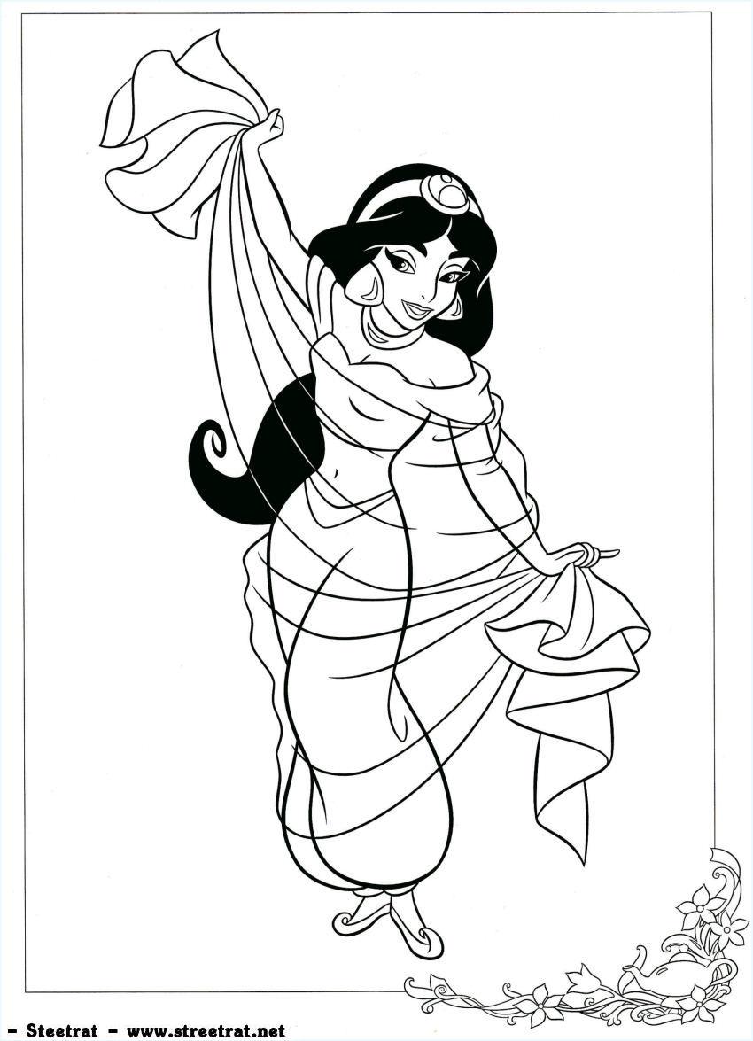 Sélection de dessins de coloriage jasmine à imprimer sur ...