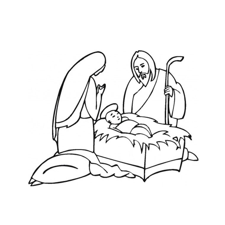 dessin 14513 coloriage de jsus gratuit imprimer
