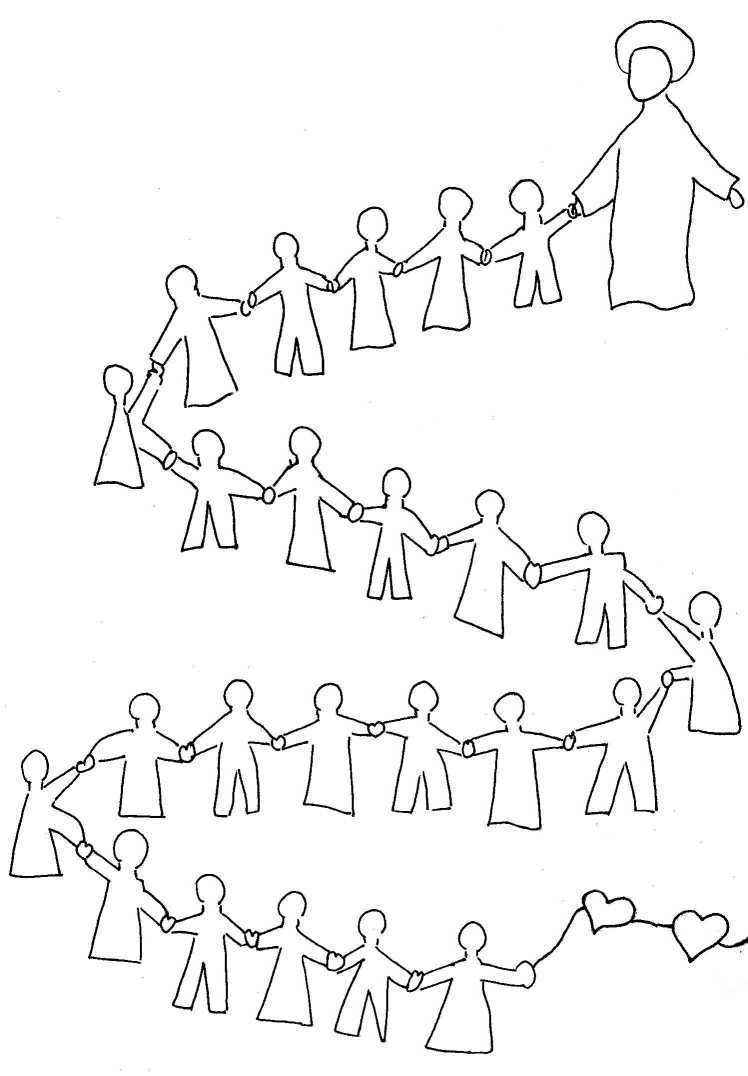 dessin 14522 coloriage gratuit de jsus a imprimer