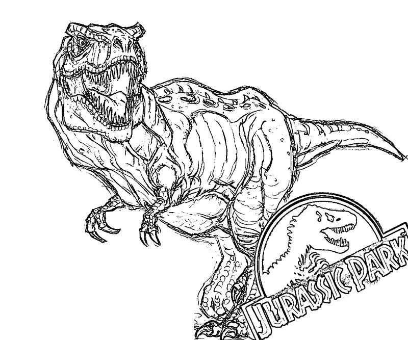 33 dessins de coloriage jurassic park imprimer sur - Jurassic park gratuit ...