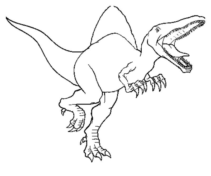Coloriage Gratuit Jurassic World.33 Dessins De Coloriage Jurassic Park A Imprimer Sur Laguerche Com