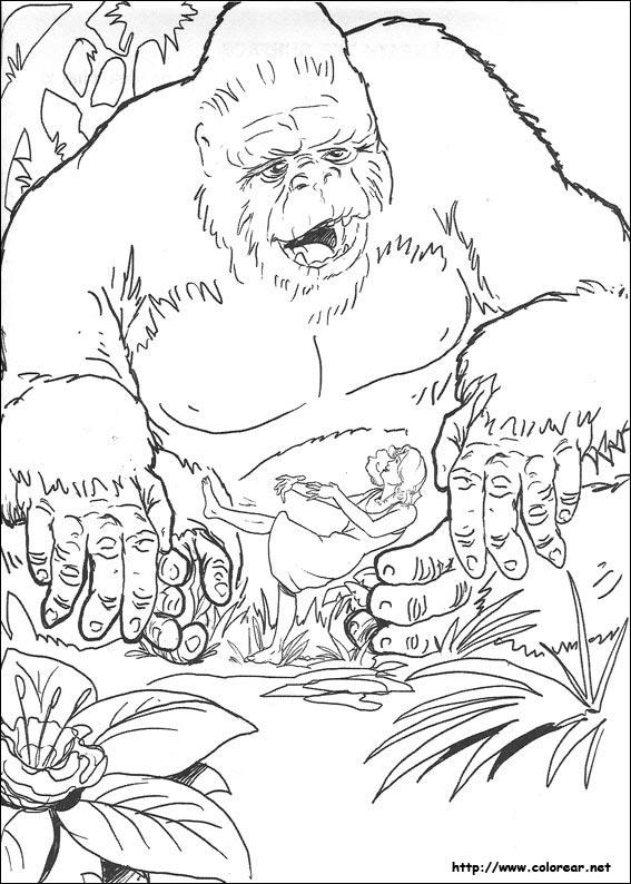 dibujos de king kong volver a la categoría king kong