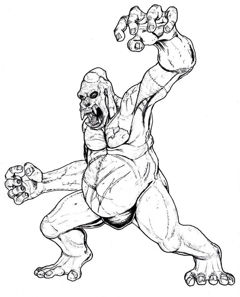 grave digger monster truck dessins à colorier
