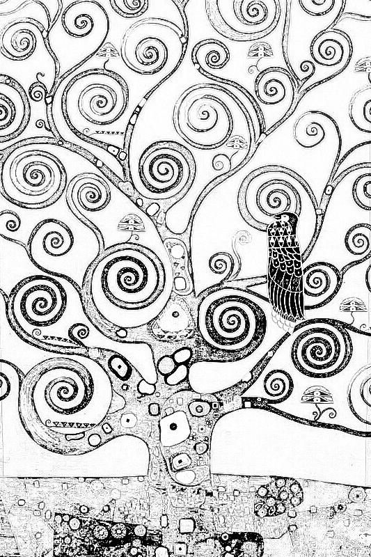 10 dessins de coloriage klimt imprimer sur for Biographie de klimt