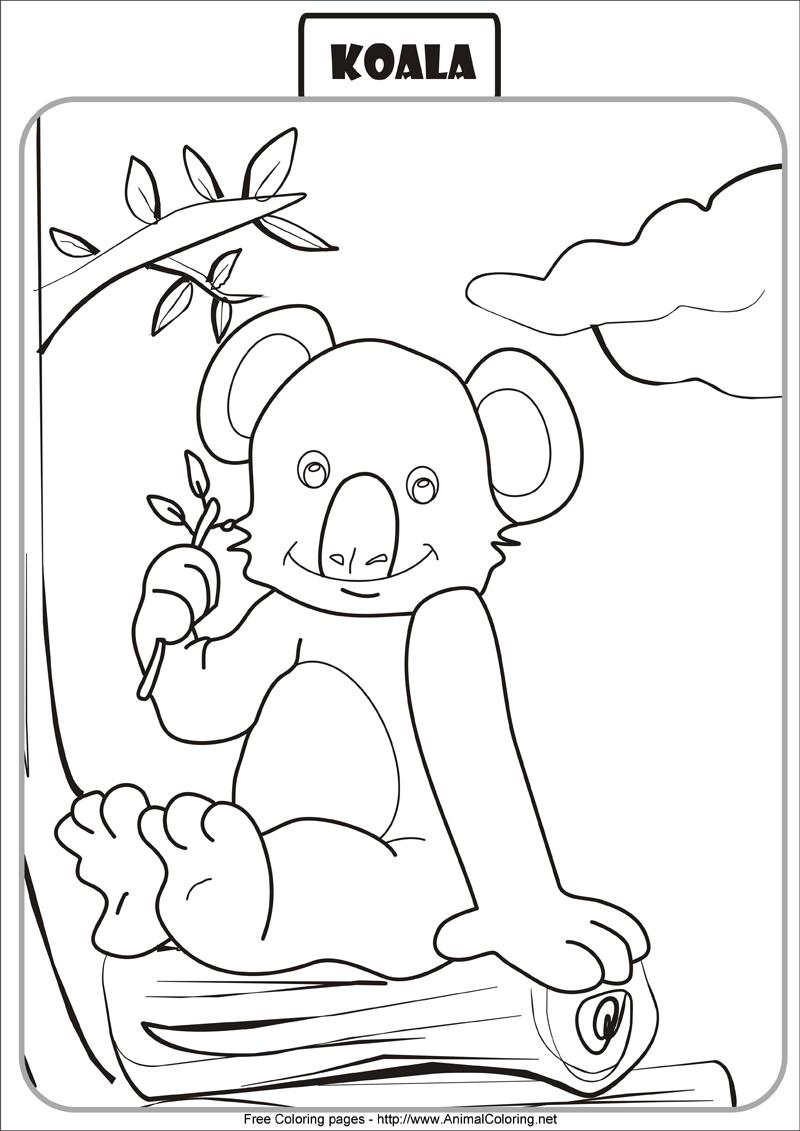 Coloriage Gratuit Koala.77 Dessins De Coloriage Koala A Imprimer Sur Laguerche Com Page 1