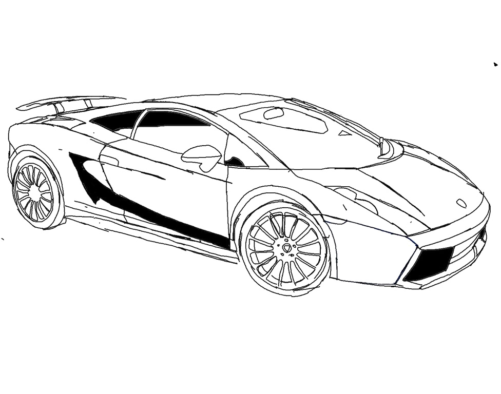 lamborghini veneno drawing coloring coloring pages