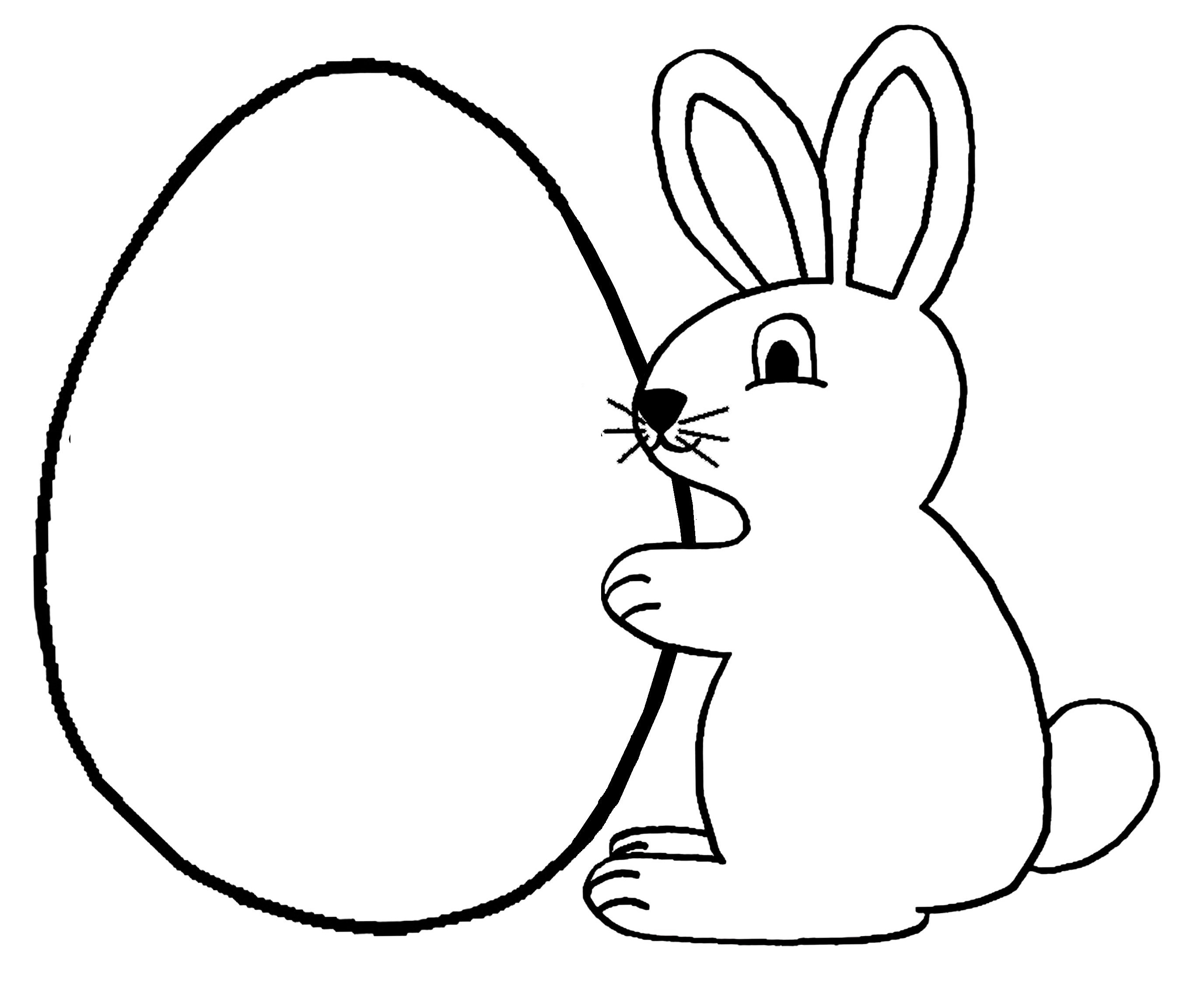 Lapin coloriage gallery - Coloriages lapin ...