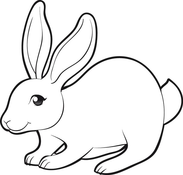 128 dessins de coloriage lapin imprimer sur laguerche - Lapin en dessin ...