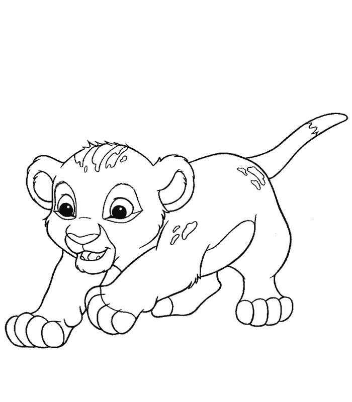 Sélection de dessins de coloriage le roi lion à imprimer ...