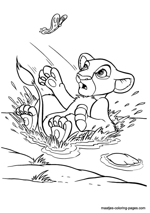S lection de dessins de coloriage le roi lion imprimer - Coloriage roi lion 2 ...