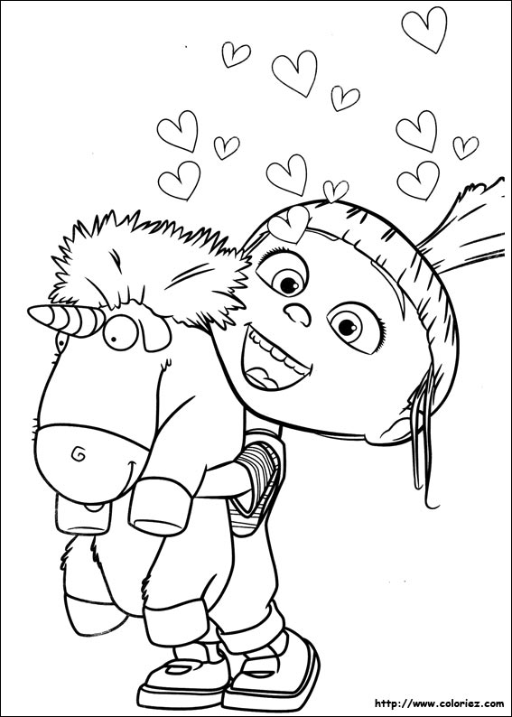 Coloriage les minions gratuit - dessin a imprimer #15