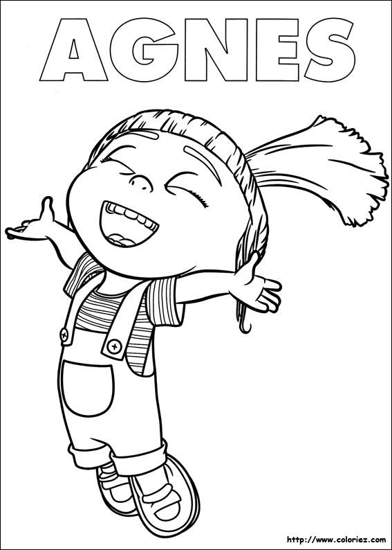 Coloriage les minions gratuit - dessin a imprimer #25
