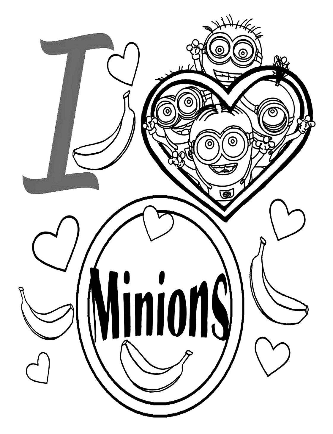 100 Dessins De Coloriage Les Minions 224 Imprimer Sur