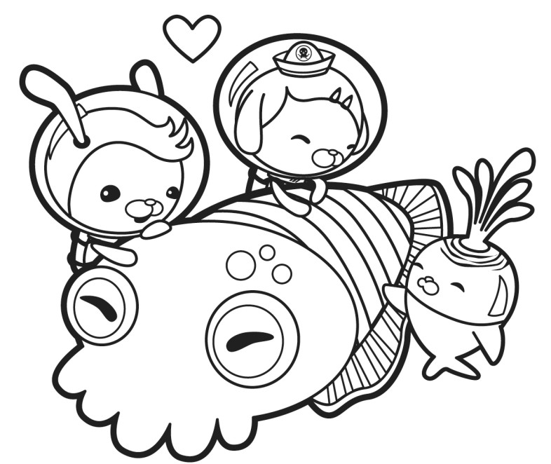 octonauts gup x coloring pages - photo#14