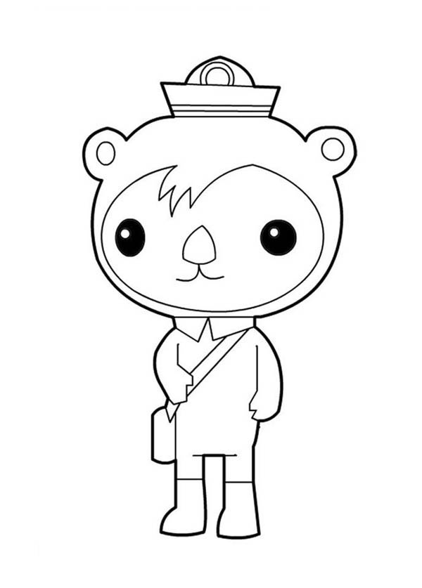 octonauts coloring pages all characters - photo#21