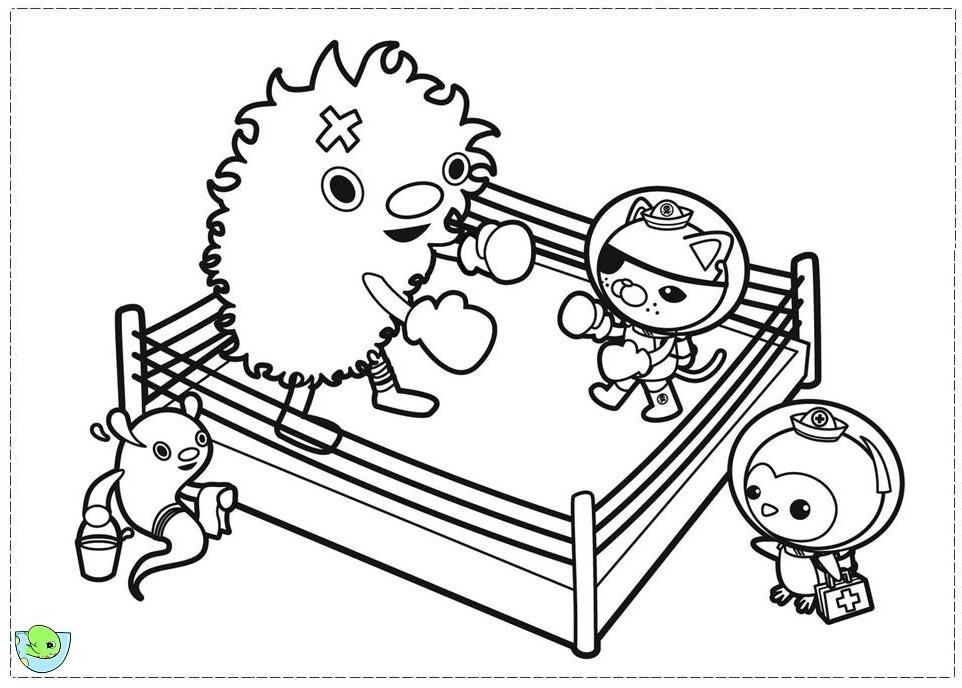 52 dessins de coloriage octonauts imprimer sur page 4 - Octonauts dessin anime ...